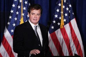前競選主席遭起訴 白宮:與總統毫無關係