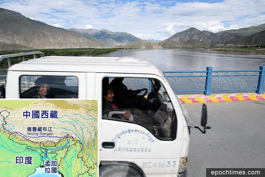 中共欲建千里隧道奪水 恐與印度再生摩擦