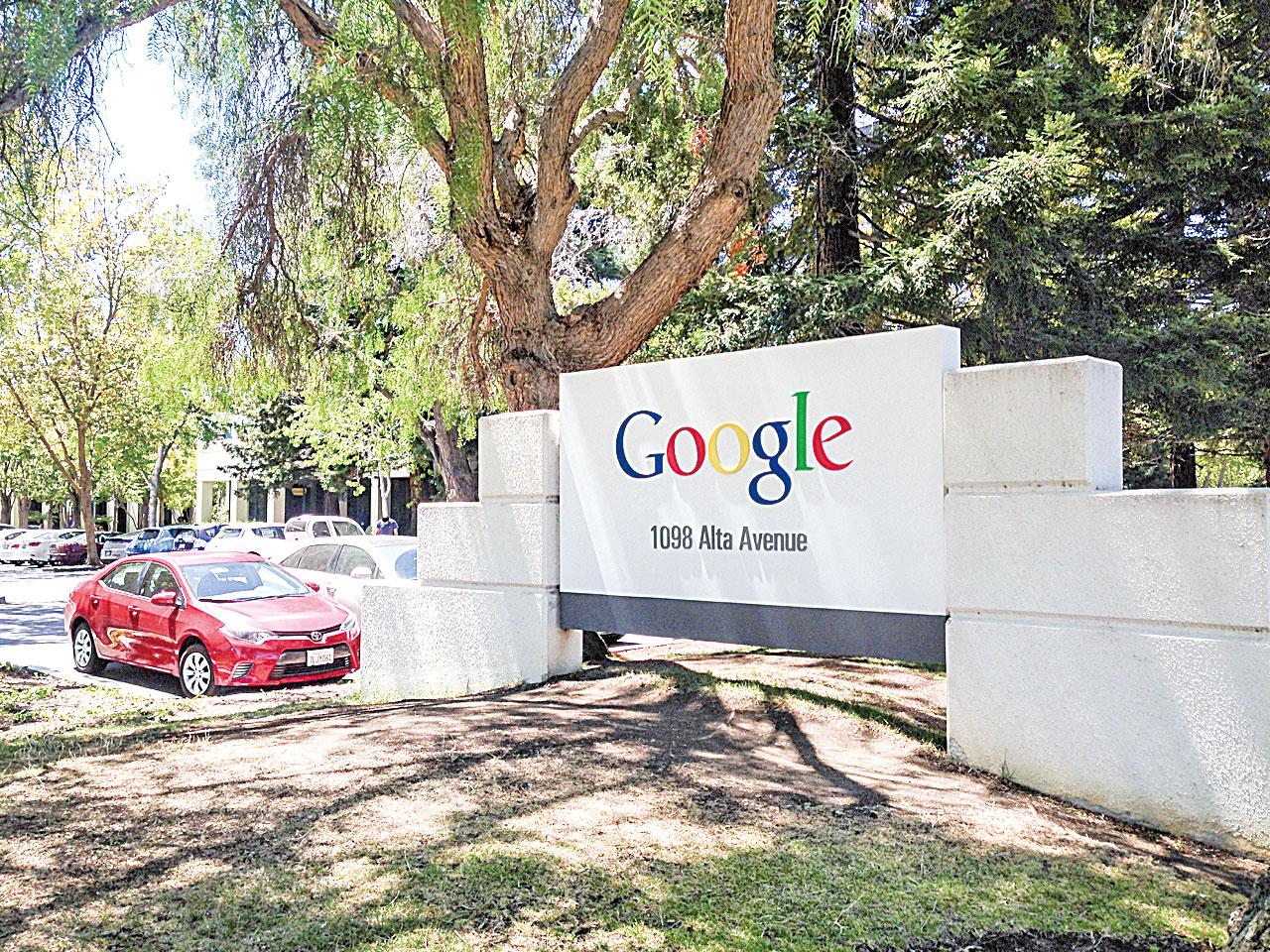 人工智能專家成為矽谷各大公司的寵兒。圖為 Google矽谷總部。(大紀元資料圖)