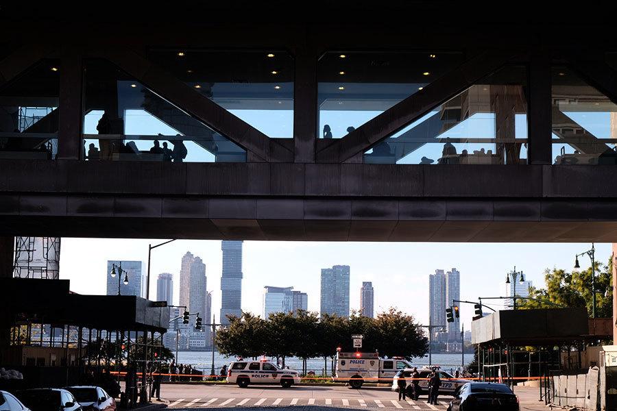 曼哈頓恐襲貨車撞人 疑犯身影曝光