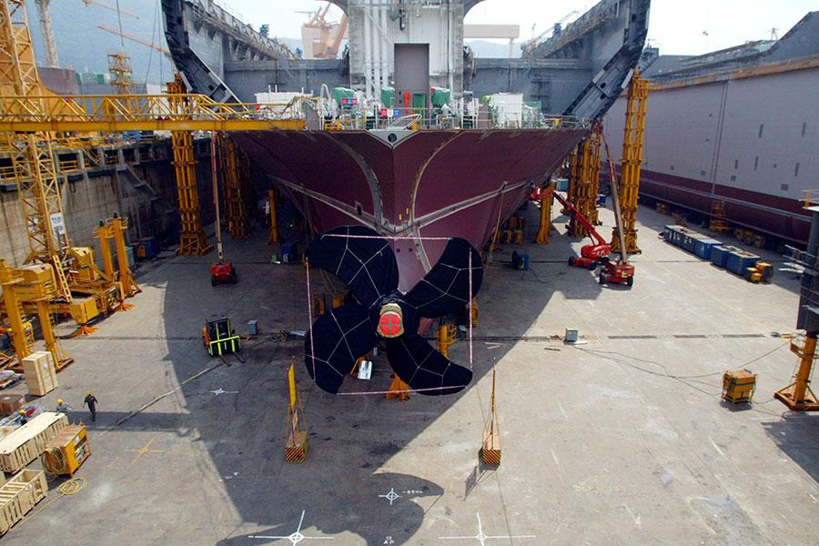 南韓反對黨議員10月31日說,北韓黑客可能在去年四月份入侵南韓大宇造船有限公司,偷走了南韓軍艦設計圖。(Chung Sung-Jun/Getty Images)