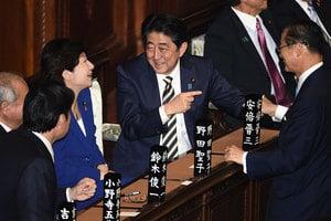 日本舉行特別國會 第四次安倍內閣將上路