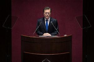 南韓總統文在寅宣佈 不會發展核武