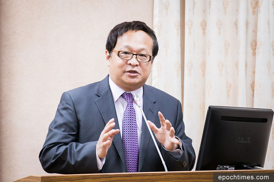 海基會副董事長柯承亨31日表示,有台灣學者到中國做田野調查,發現只要曾來台旅遊或念書的人,幾乎都對武統非常反感。(陳柏州/大紀元)