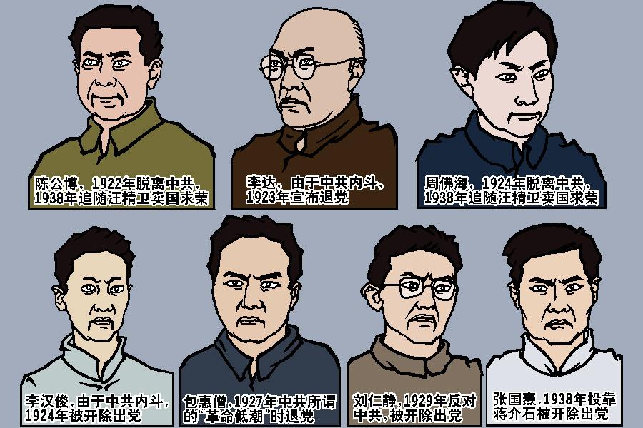 張東園:中共建黨謊言與「一大」代表的悲慘命運