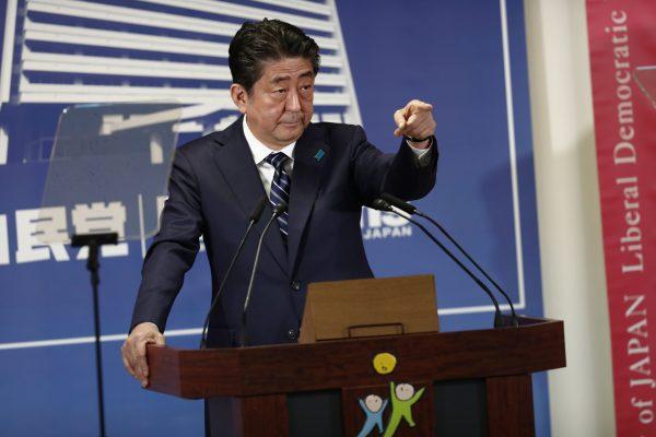 安倍第四度當選日本首相 任期有望破紀錄