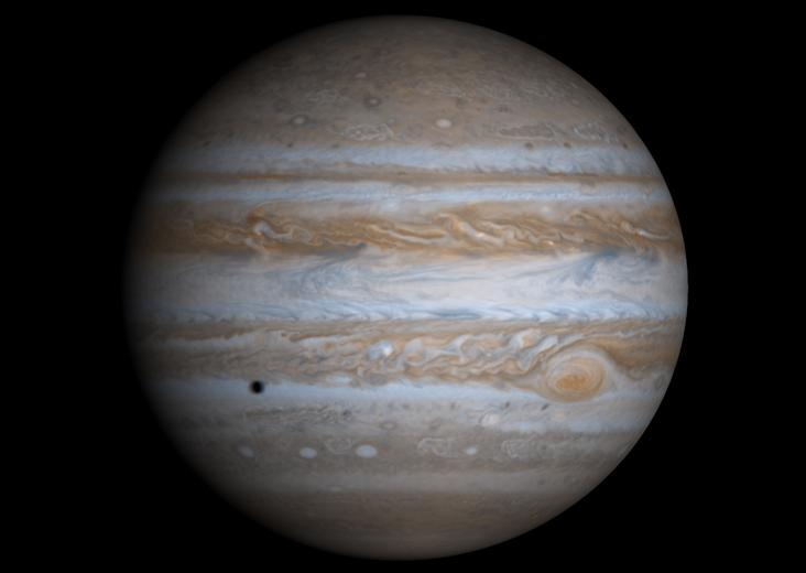 木星。(NASA)