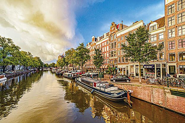 阿姆斯特丹運河。(Kirk Fisher/CC/Pixabay)