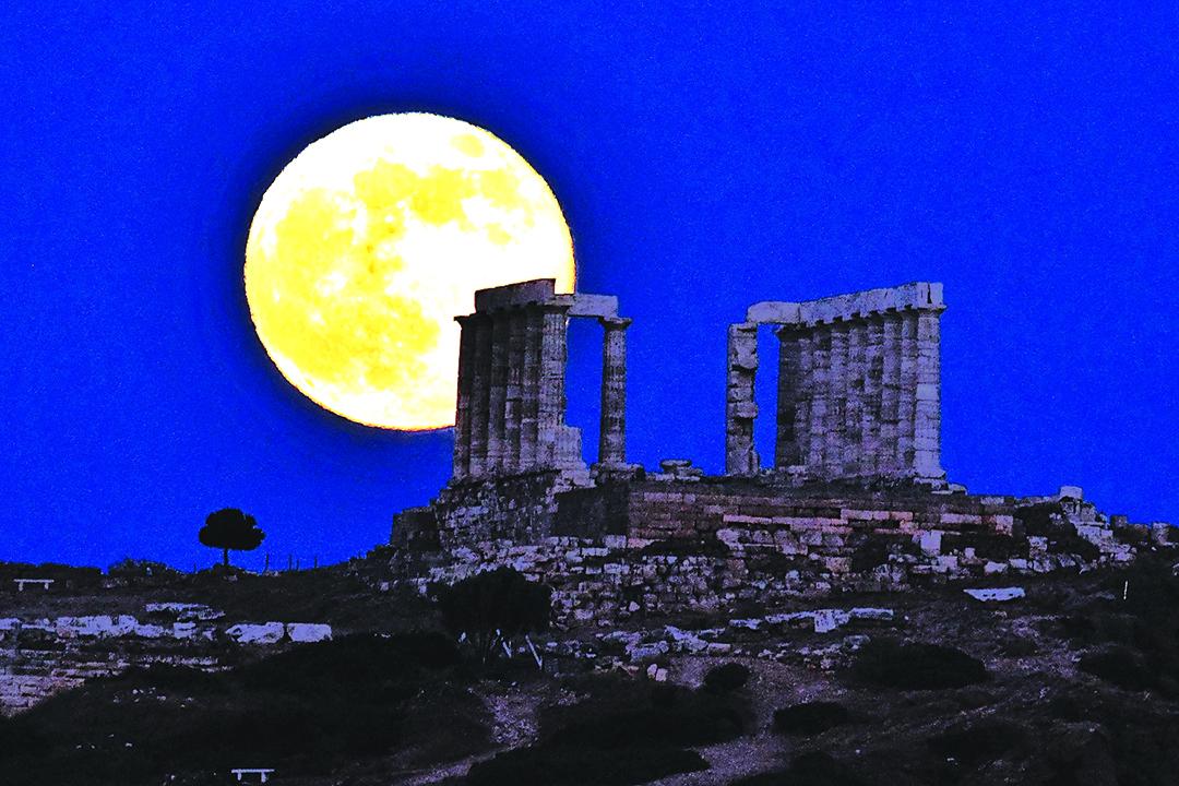 今年度唯一的一次超級月亮將在12月3日出現。(Getty Images)