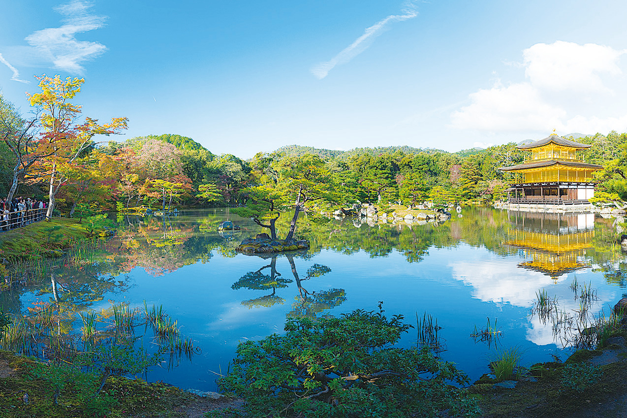 京都金閣寺。(Jordy Meow/CC/Pixabay)