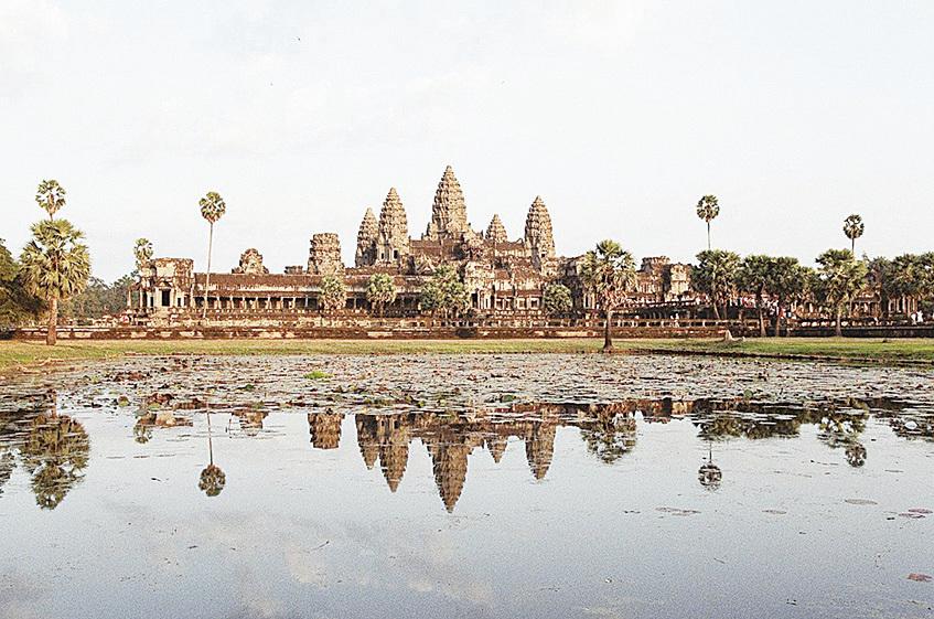 柬埔寨吳哥窟。(Karen Bennett/CC/Pixabay)