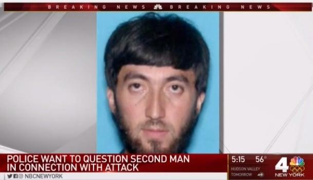 美國聯邦調查局(FBI)周三(11月1日)表示,與曼哈頓恐襲疑犯有關聯的一名男子(圖)已經找到,並將對他做進一步詢問和了解。(NBC紐約新聞擷圖)