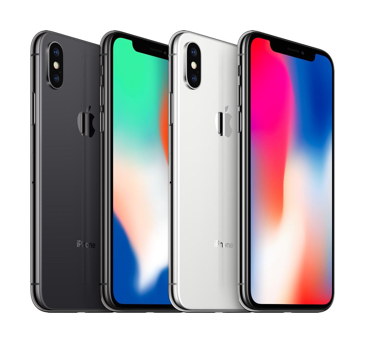 11月3日開始發售的iPhone X。(Telstra提供)