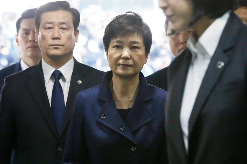 南韓前總統朴槿惠被開除黨籍