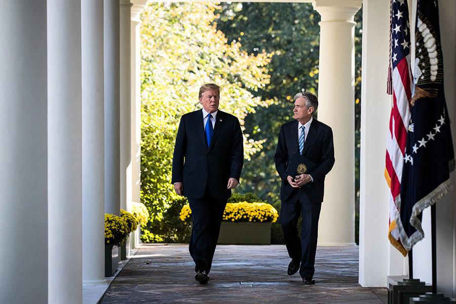 擊敗競爭強手 鮑威爾獲特朗普提名任美聯儲主席