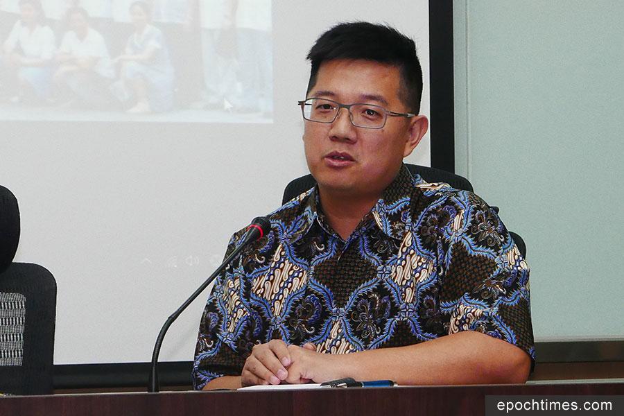 中山大學政治所副教授陳至潔指出,不只中共,東南亞幾個國家也想學習其控制人民的方式。(郭曜榮/大紀元)