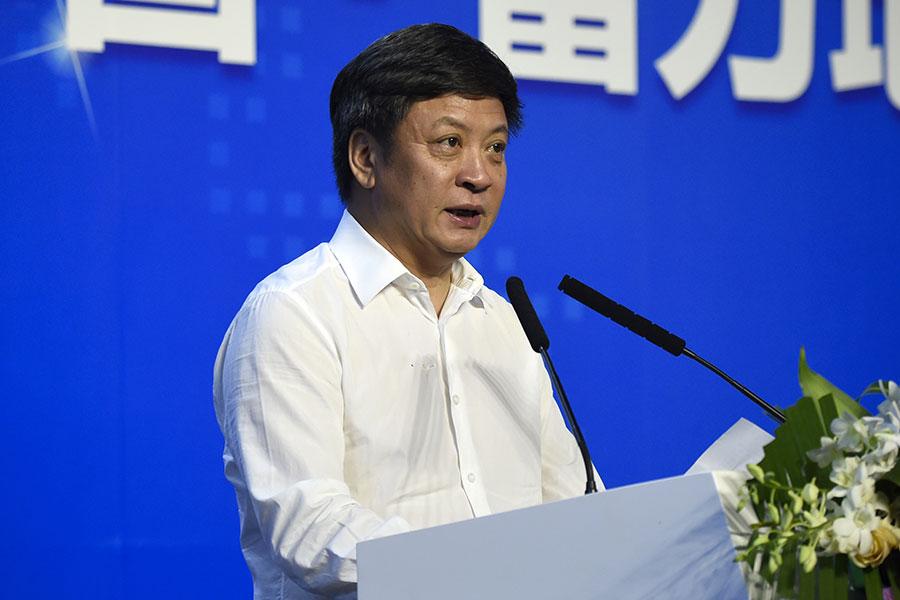 3月14日晚間,樂視網發佈公告稱,孫宏斌辭去樂視網董事長。(WANG ZHAO/AFP/Getty Images)