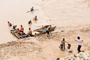 陸媒報黃河水清 專家:理論上黃河正在死去