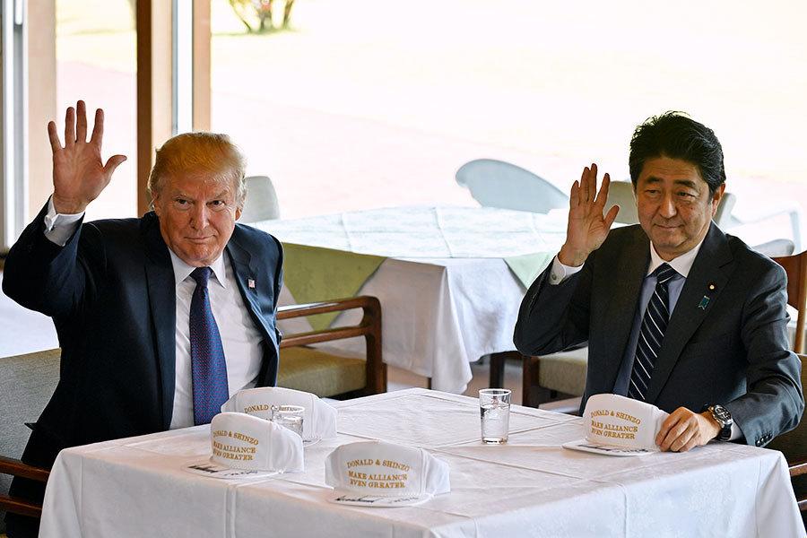 特朗普與安倍秘談對北韓軍事行動?