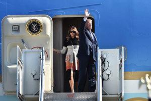 特朗普抵達亞洲首站 稱日本為「重要盟國」