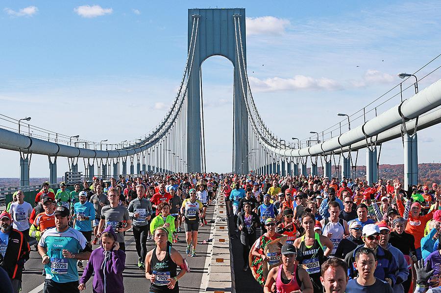 紐約馬拉松如期登場 全球5萬人參賽