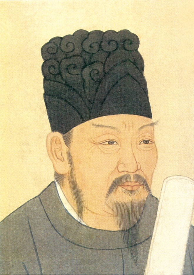 隋末唐初名將李靖畫像。(HuangQQ/維基百科)