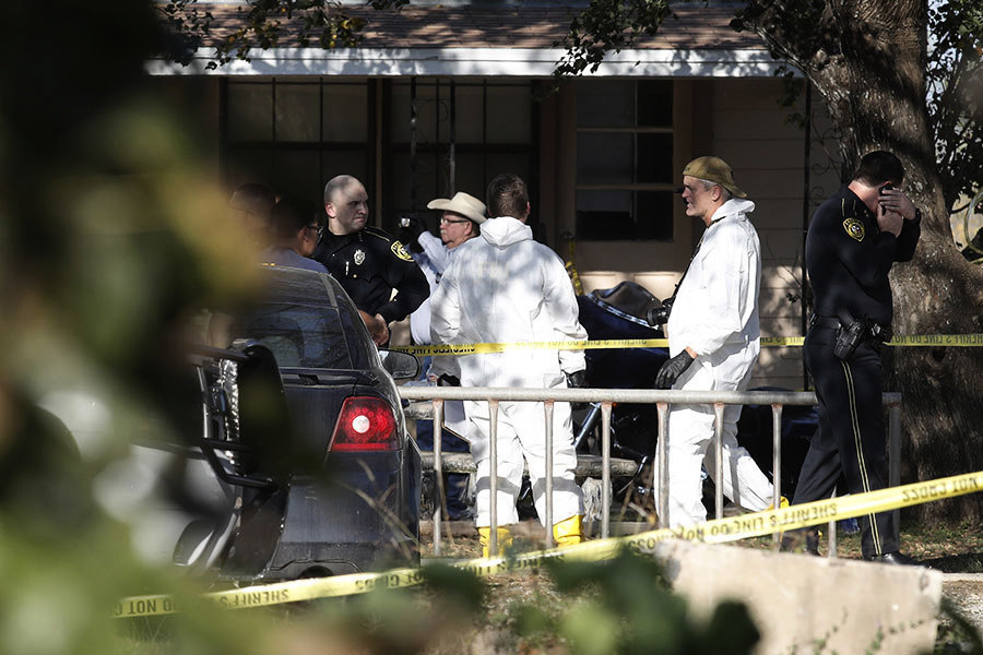 德州屠殺 無名英雄冒死追槍手 阻更多傷亡
