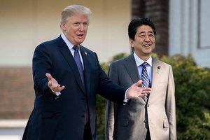 特朗普抵日警告北韓:別小看美國決心