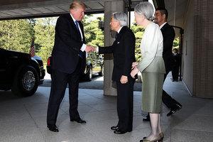 會見日本天皇是否鞠躬? 特朗普通過「考試」