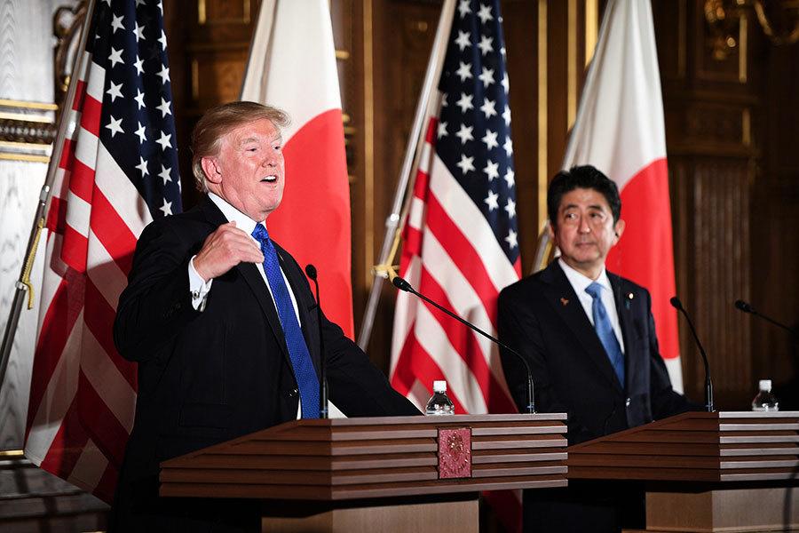 特朗普:日美貿易「既不公平也不開放」