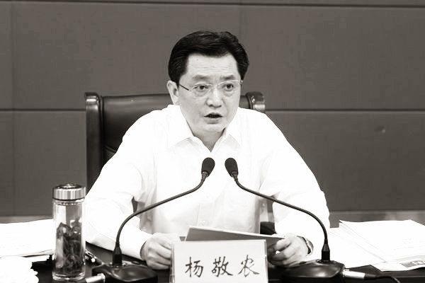 落馬的安徽省政府秘書長楊敬農自曝貪腐細節,信息量極大。(網絡圖片)