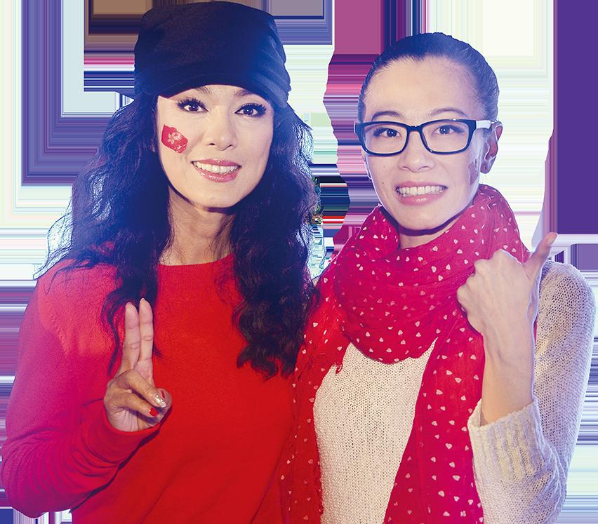 米雪焦媛再度合作演舞台劇,互讚演技好。(資料圖片)