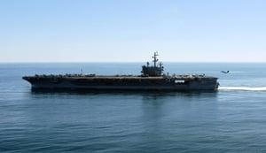 特朗普亞洲行 美軍七大航母全球同步展軍力