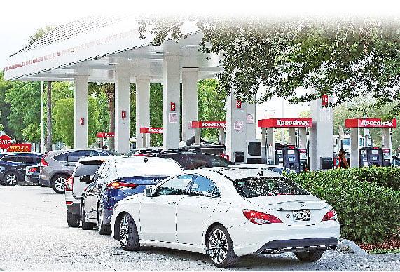 供應緊張 美國汽油飆漲傷荷包