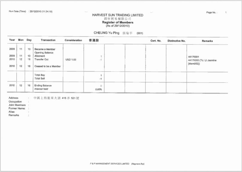 天堂文件揭賈慶林外孫女 一元公司文件曝光