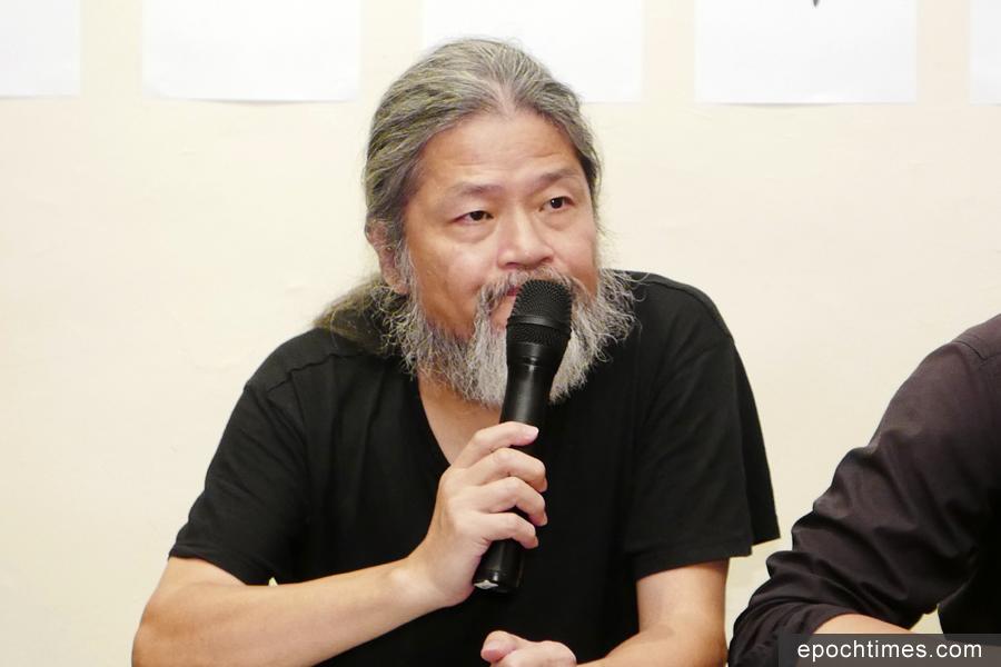 中國詩人孟浪認為,任何理想主義、任何以美好為名義者,絕對不能傷害人的生命、尊嚴。(郭曜榮/大紀元)