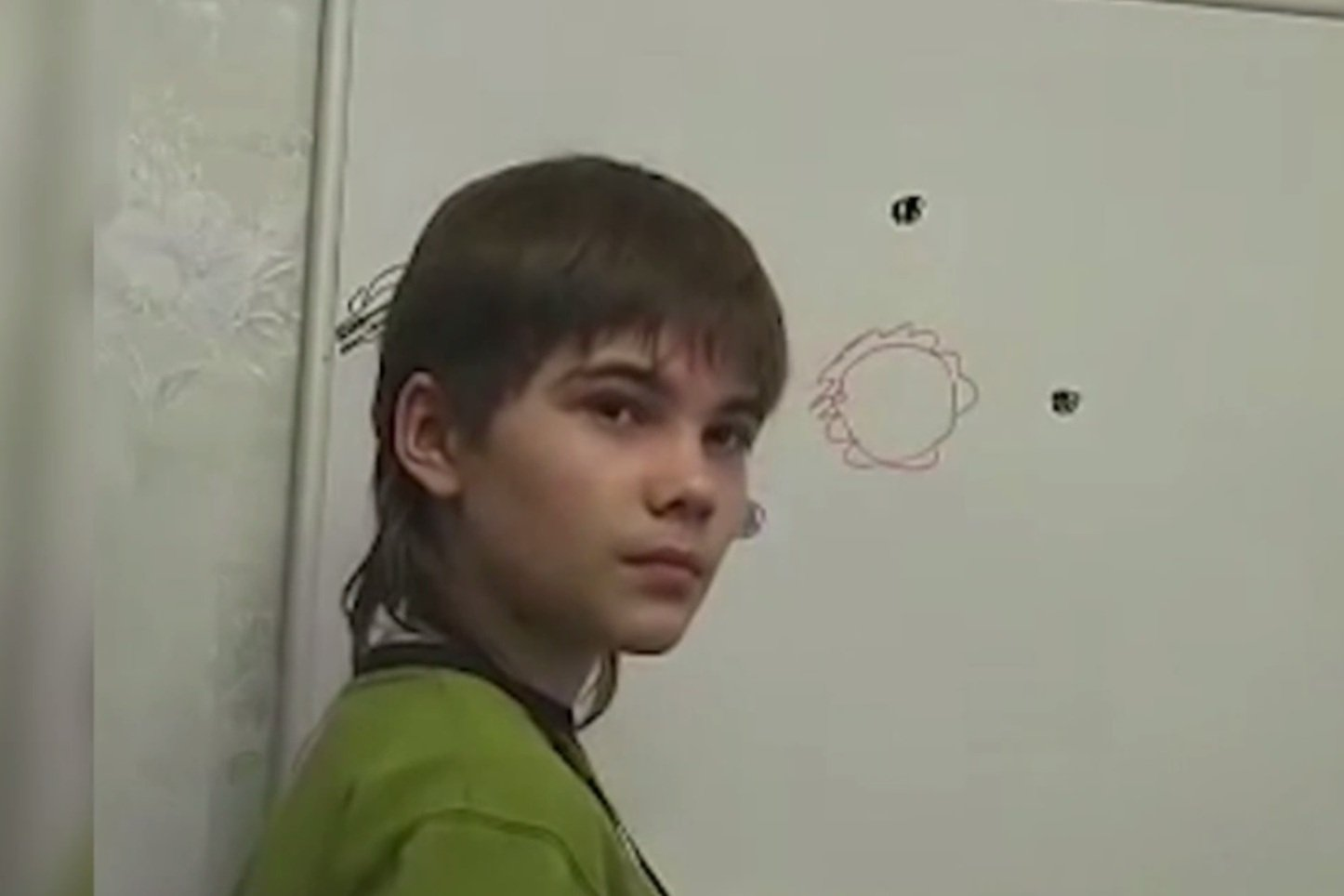 「火星男孩」。(《每日快報》視像擷圖)