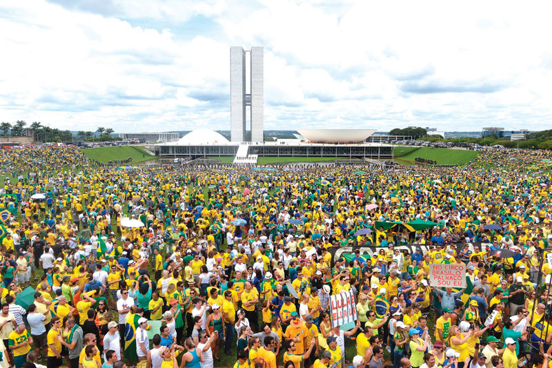 巴西總統面臨國會彈劾