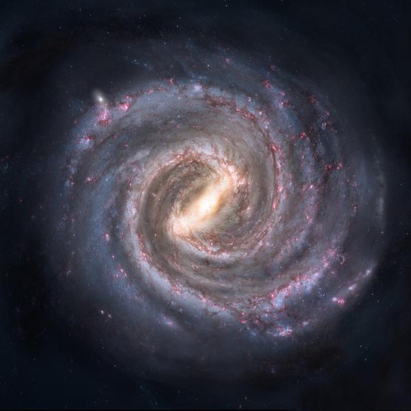 銀河系中心發現超級巨大行星 成因不明