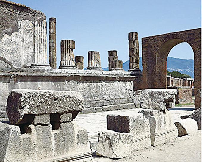 昔日古羅馬的繁榮景象。(網絡圖片)