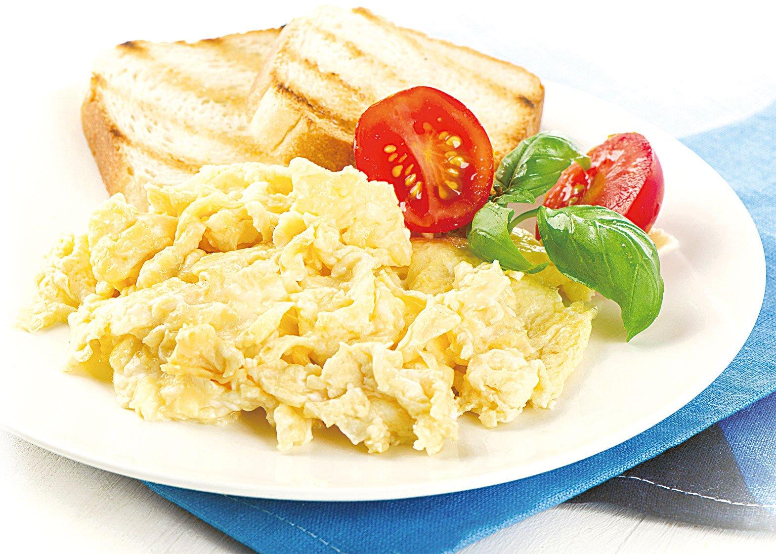 早晨來一點炒蛋,可以給自己滿滿的活力。