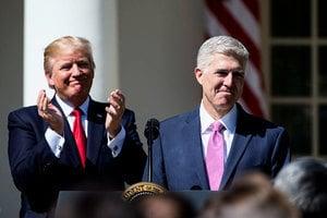 重塑司法系統 特朗普一年任命聯邦法官創紀錄