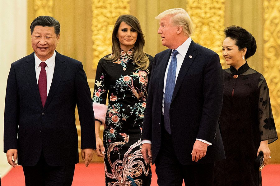 從特朗普亞洲行看美國政治與中美關係走勢
