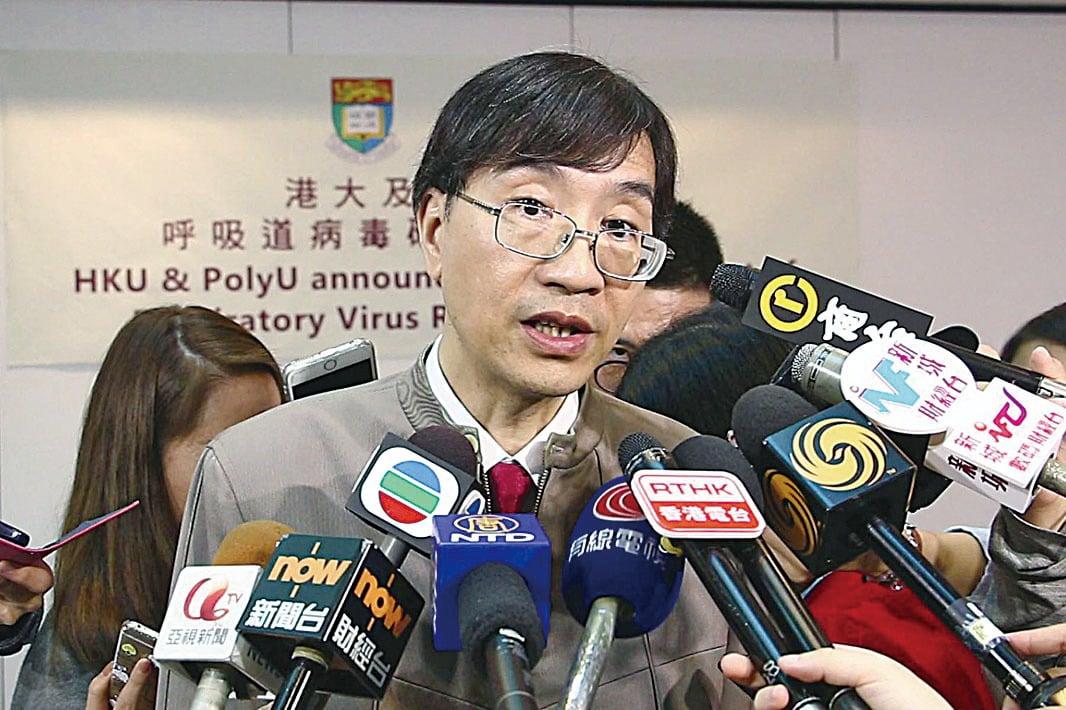 香港大學微生物學系講座教授袁國勇指,濫用抗生素將引致肥胖,增糖尿病的風險。(資料圖片)