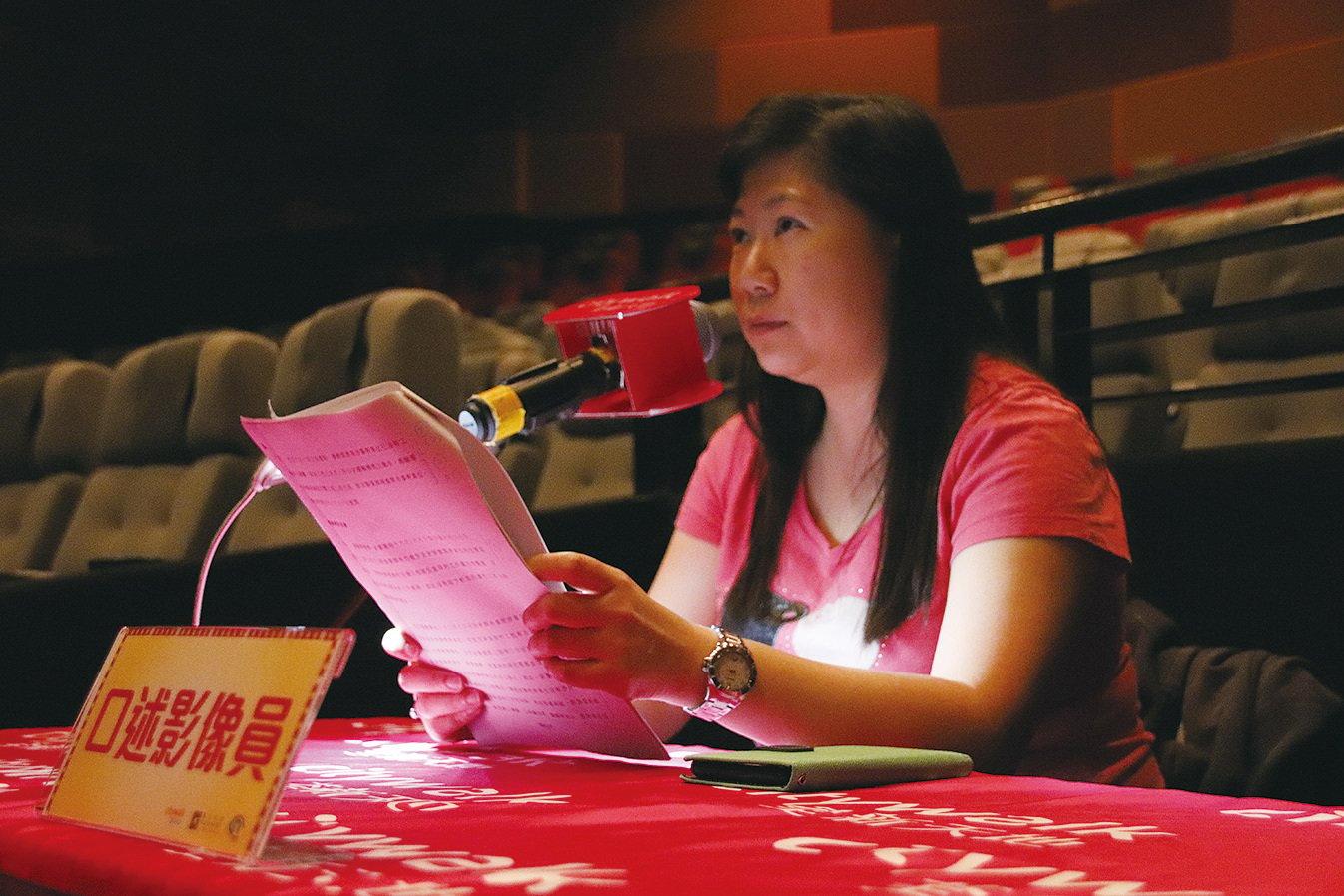 有一段時間Belinda要到戲院試音,但戲院要到深夜12時左右才清場,方可進行試音。雖然疲累,但她從不言棄。(Kigital Limited提供)