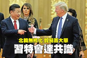北韓無核化 貿易簽大單  習特會達共識