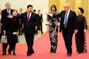 習特會在貿易和朝核問題上有何進展