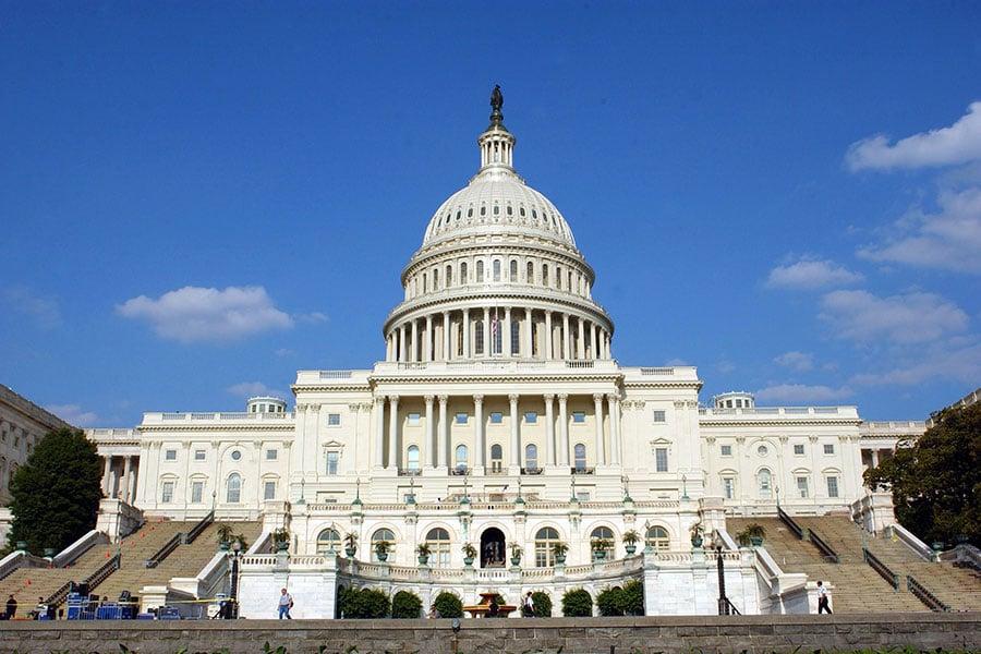 美國眾議院通過《台灣旅行法》草案。(Stefan Zaklin/Getty Images)