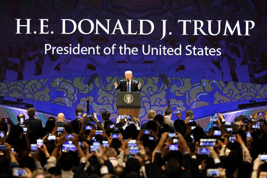 特朗普APEC提印太願景和美國優先 暗批中共