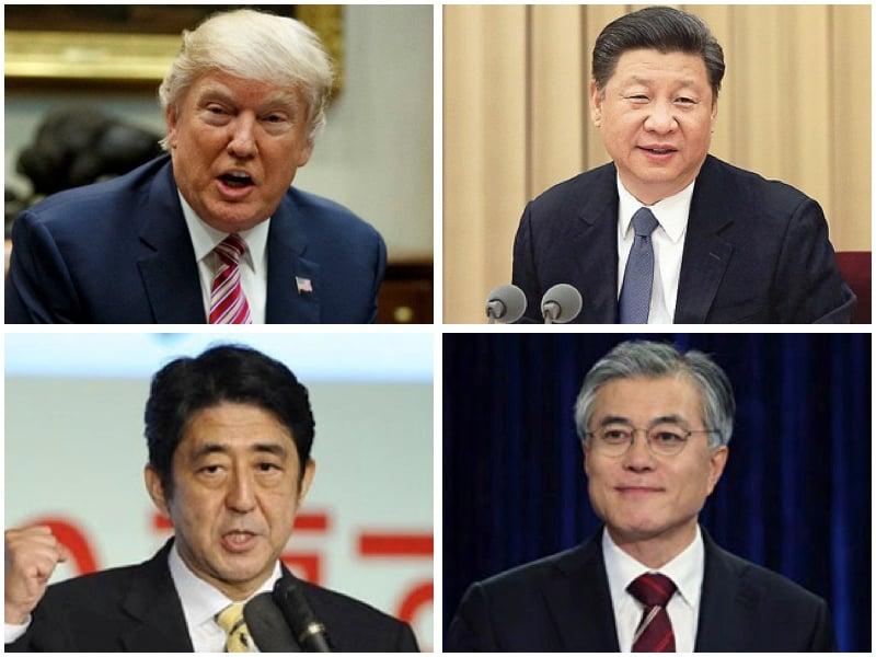 中日韓三方為何熱情款待特朗普 專家解讀